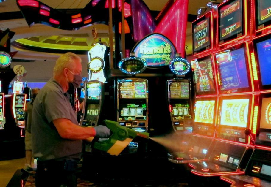 Penjudi Atlantic City kembali ke pandemi kasino yang diubah |